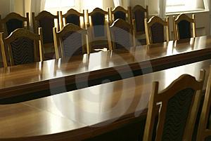 Classic Style Business Room Stock Photos - Image: 2964293