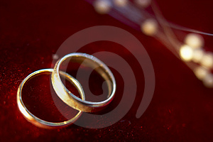 Wedding rings 3 Royalty Free Stock Photo