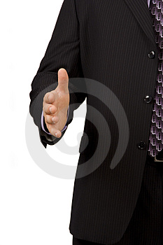 Business Greeting Royalty Free Stock Images