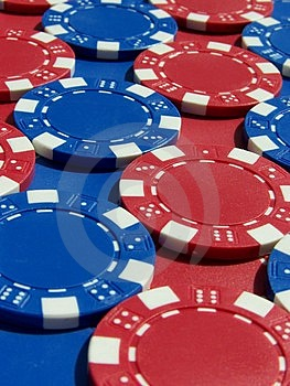 Poker Chips Royalty Free Stock Photo - Image: 2974305