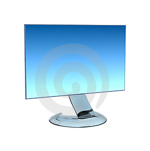 Modern LCD Royalty Free Stock Photography - Image: 2974747