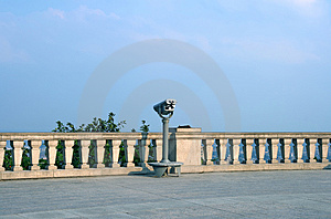 Viewfinder On A Touristic Site Stock Image - Image: 2975791