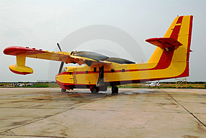 Löschflugzeug Stockbild - Bild: 2978741