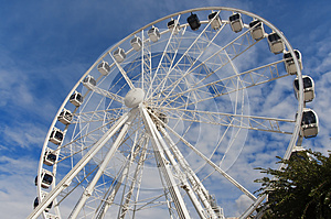 Cape Wheel In Cape Town Royalty Free Stock Photos - Image: 29790958