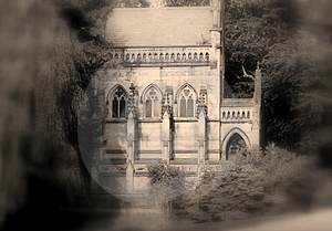 Spooky Gothic Crypt Royalty Free Stock Photo - Image: 2982555