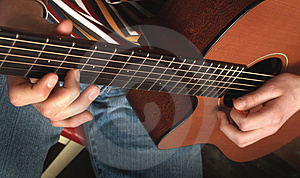 Playing guitar See other photo Stock Photos