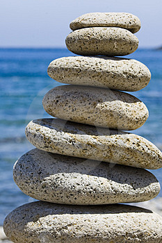 Pile of Stones Stock Photography