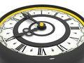 Clock. Nine o'clock Royalty Free Stock Photography