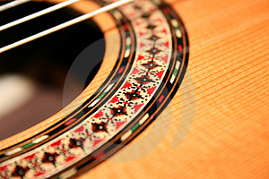 Guitar Deck Royalty Free Stock Photography
