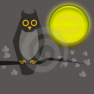 Halloween owl Royalty Free Stock Photo