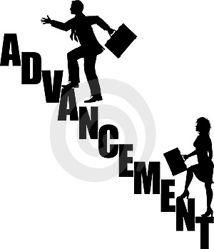 Advancement_stairs_4 Stock Image