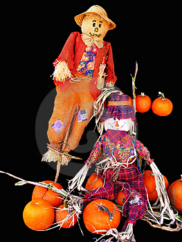 Halloween Stuff Royalty Free Stock Photography