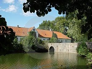Castle Bridge Free Stock Images