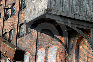 Industrial Heritage, Old Mill Stock Photo