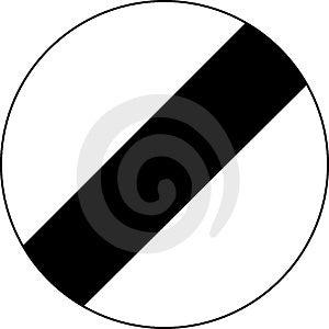 National Speed Limit Applies Stock Photos - Image: 31723