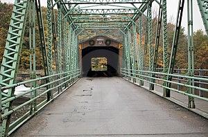 Covered Bridge  Royalty Free Stock Photo - Image: 31855