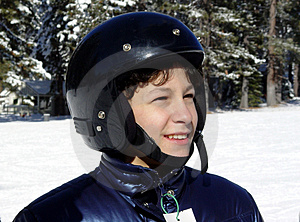 Boy In A Helmet Royalty Free Stock Image - Image: 32236