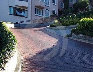 Lombard weg-San Francisco Stock Afbeelding
