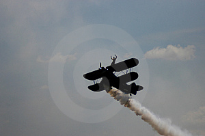 Aerobatic Plane II Royalty Free Stock Photography - Image: 33187