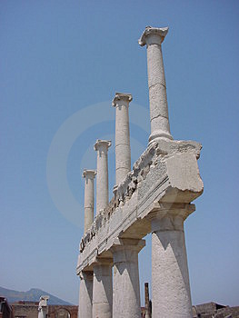Pompei Stock Photo