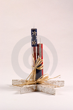 Fourth Of July Decoration Stock Images