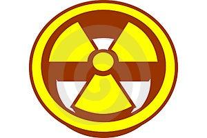 放射性 免版税图库摄影