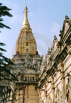 Tempelkomplex Stockbild