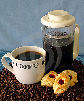 Cofee Time Royalty Free Stock Photography - Image: 35527