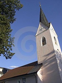 Oostenrijkse kerk Stock Afbeeldingen