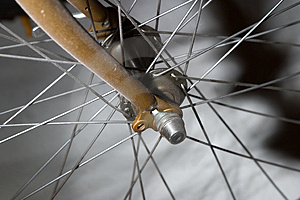 Front Forks Royalty Free Stock Image - Image: 36326