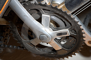 Pedal Gear Of A Bicycle Royalty Free Stock Photos - Image: 36328
