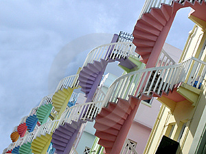 Stairways To The Sky Royalty Free Stock Images - Image: 36329