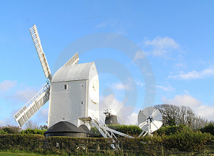 A working windmill Stock Photography