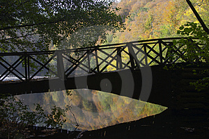 Romance Bridge Stock Image