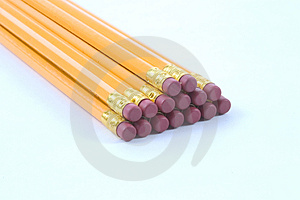 Pencil Stack Royalty Free Stock Images - Image: 38169