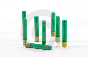 410 Gauge Shotgun Shells Free Stock Photography