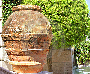 Details Of Red Clay Pot Stock Photos - Image: 38453