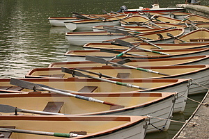 Boats Pattern Stock Images