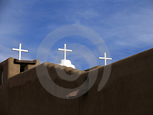 Three Cross Stock Images