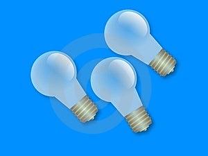 Light Bulbs Free Stock Image