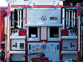 Business End of Fire Truck Free Stock Photos