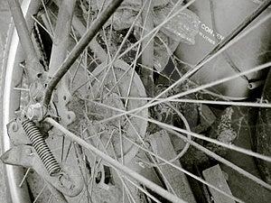 Uitstekende fiets 01 Royalty-vrije Stock Afbeeldingen