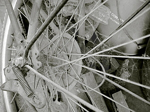 Bici d'annata 01 Immagini Stock Libere da Diritti