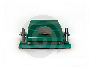 Hole-punch Royalty Free Stock Image - Image: 305466