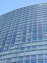 Blue building pattern