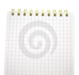 Blocco note Fotografia Stock