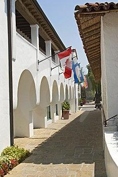 Spanish Style Architecture Royalty Free Stock Photo - Image: 3005125