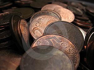 Euro Coins Stock Image - Image: 3015111