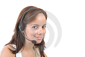 Customer services Stock Images