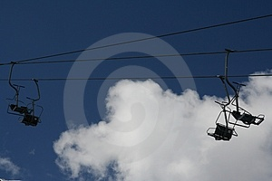 Chair-lift Stock Image - Image: 3017771